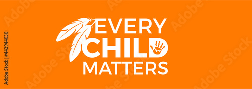 Fotografia, Obraz Every Child Matters Logo Design