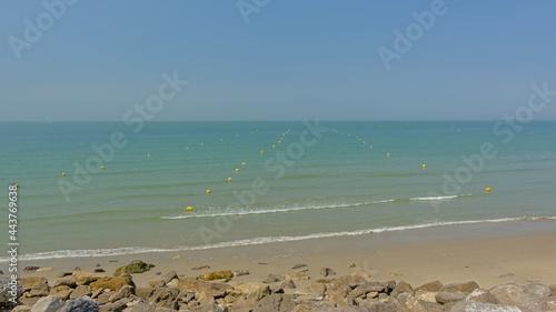Fotografie, Obraz Rocky northsea coast in Nord pas de calais, France