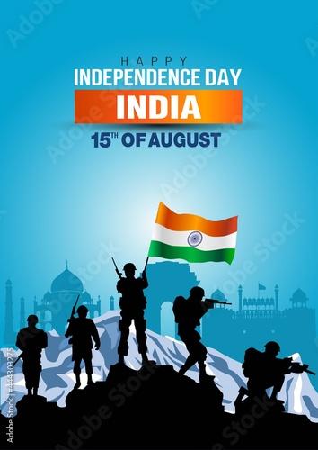 Fotografia, Obraz happy independence day India