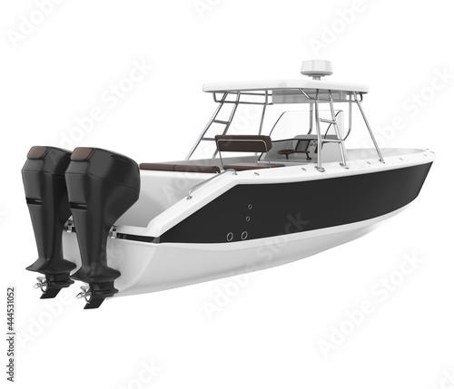 Fotografia, Obraz Fishing Boat Isolated