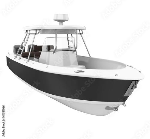 Obraz na plátne Fishing Boat Isolated