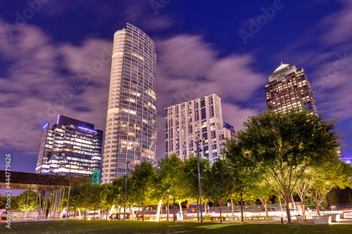 Photo Dallas Downtown at Night