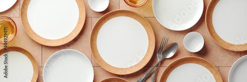 Fotografia Mockup background for food stylist presentation
