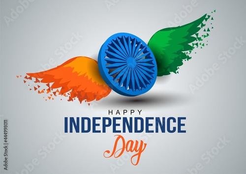 Obraz na plátně happy independence day India