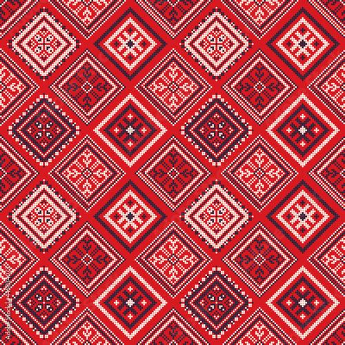 Canvastavla Russian pattern 54