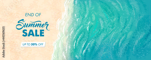 Fotografie, Obraz Summer sale horizontal banner