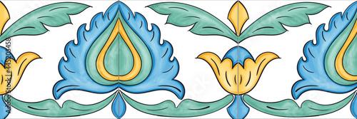 Canvas Ceramiche artistiche di Caltagirone Sicilia Italia Mattonelle Scala Matrice Scal