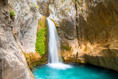 Fotografie, Obraz Sapadere canyon and beautiful waterfall, Alanya, Turkey
