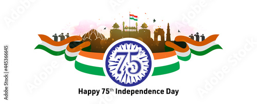 Canvas-taulu Independence day India