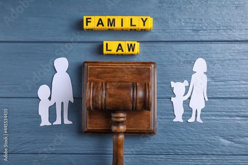 Family law concept Fototapeta
