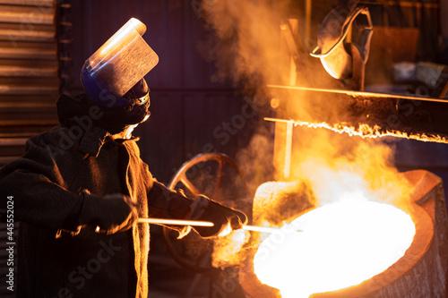Photo Metallurgy foundry