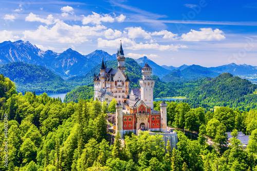 Neuschwanstein Castle, Germany Fototapet
