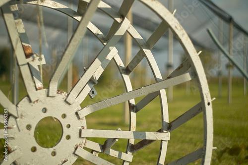 Fotografie, Tablou Cages for agricultural tractors 2