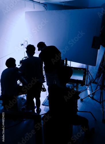 Fotografija Video production behind the scenes