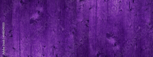 Abstract grunge rustic old purple painted colored wooden board wall table floor texture - wood background banner panorama