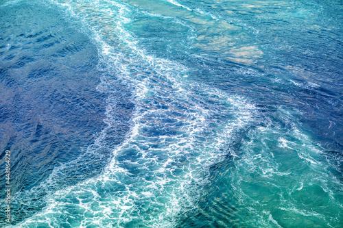 Fotografie, Obraz Whirlpool on a mountain river