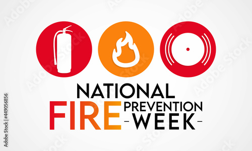 Canvastavla National Fire Prevention Week is observed every year in October, to raise fire safety awareness, and help ensure our home and family is protected