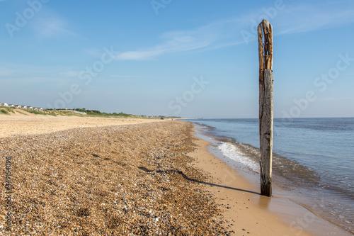 Canvas Norfolk coastline