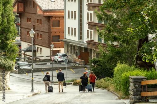 Mollens, Sierre, Switzerland Fototapeta