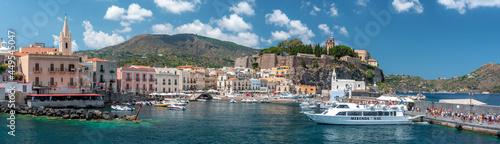 Fotografiet Hafen von Lipari