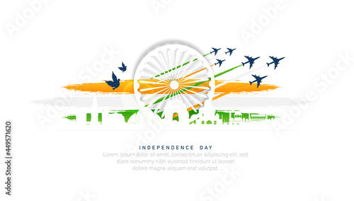 Fotografia Indian Independence Day- 15th of august.