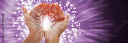 Foto Psychic Spiritual Healing Energy Light