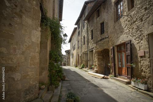 Stampa su Tela old street on saint antoine l'abbaye