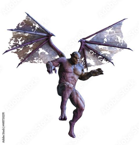 Slika na platnu Gargoyle in Flight