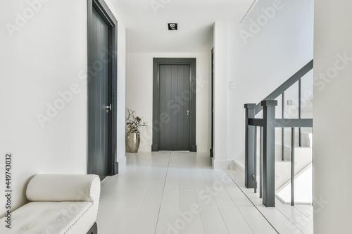 Stairs in the luxury hallway looking elegance Fototapet
