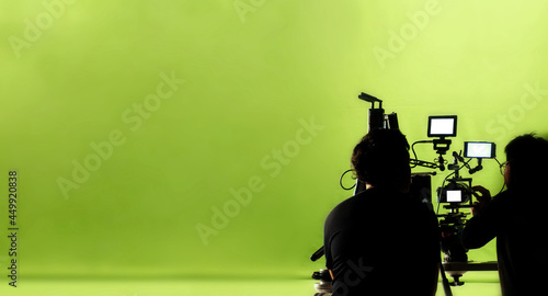 Foto Video production behind the scenes