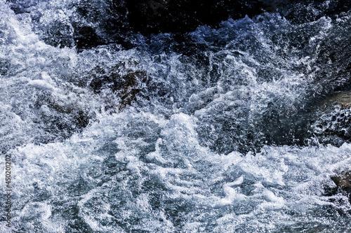 Obraz na plátně Eddy Of Mountain Stream