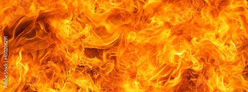 Fotografia Blaze Fire Flame Conflagration Texture For Banner Background