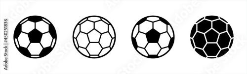 Slika na platnu Soccer ball icon