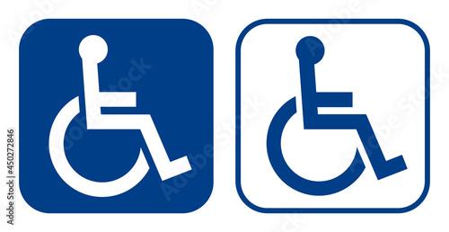 Fotografiet 障害者のための国際シンボルマーク(車椅子マーク)