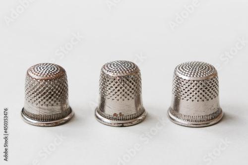 Fotografia, Obraz Three thimbles