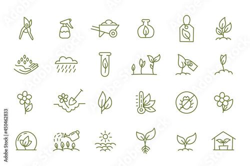 Obraz na plátne Agriculture and gardener