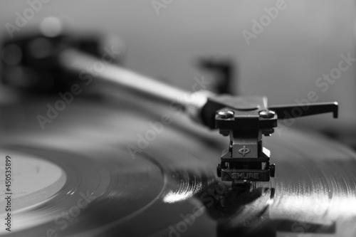 Fototapeta old vinyl player