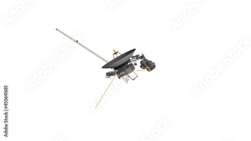 Fotografia, Obraz Voyager 1 in space, the most distant object, Voyager 1, Voyager probe outside th