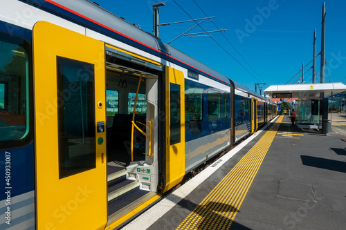 Fotografie, Obraz ニュージーランドのオークランドの観光名所を観光している風景 Scenery of sightseeing in Auckland, New Zealand