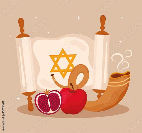 Fotografie, Obraz yom kippur card
