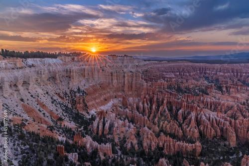 Bryce Canyon Fotobehang
