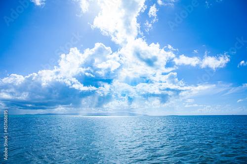 Obraz na plátně 沖縄の綺麗なビーチ