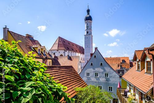 Foto old town of Landsberg am Lech