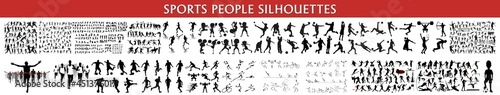 Foto sports people silhouettem, Action Packed Sports