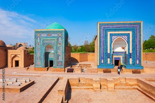 Valokuvatapetti Shah i Zinda mausoleum in Samarkand