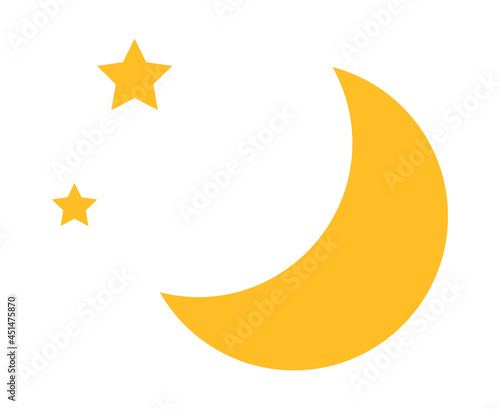 Foto 星と月