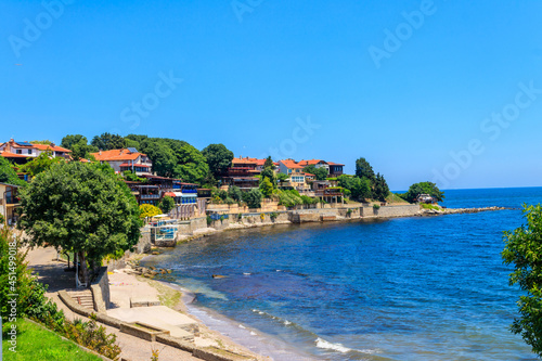 View of the embankment of the old town of Nessebar, Bulgaria Fototapete
