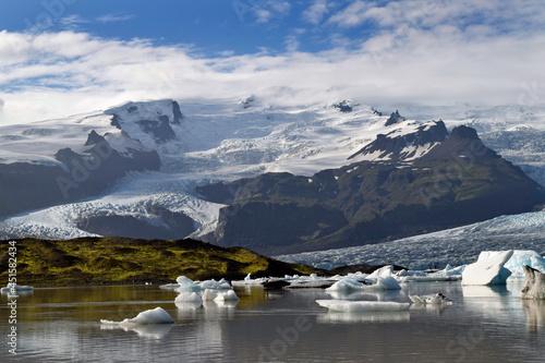 Fotografie, Obraz Retreating glacier in Iceland