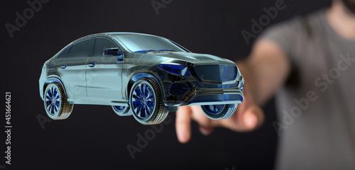 autonomous online car sharing service controlled
