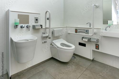 東京の公園内の多機能トイレ Tapéta, Fotótapéta